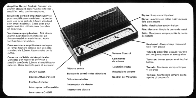 Stylophone Parts sm