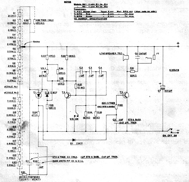 stylophone music electronics page 2New Sound Stylophone Circuit Diagram Sm #4
