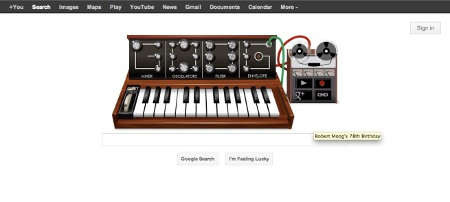 Robert Moog's Birthday