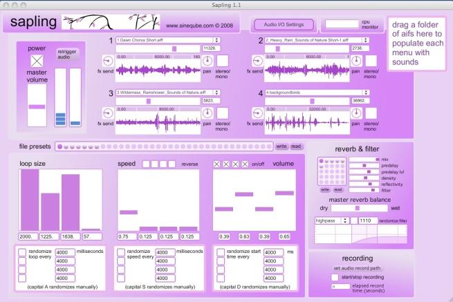 sapling screenshot 2