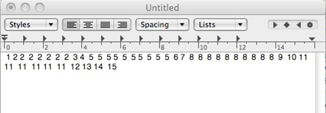 14 Text Edit Numbers