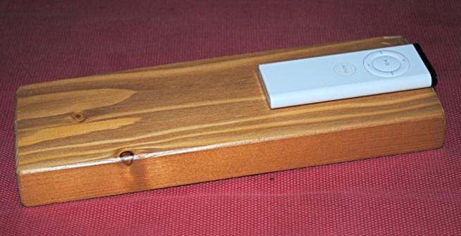 Remote wood block