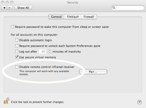 Security preferences2