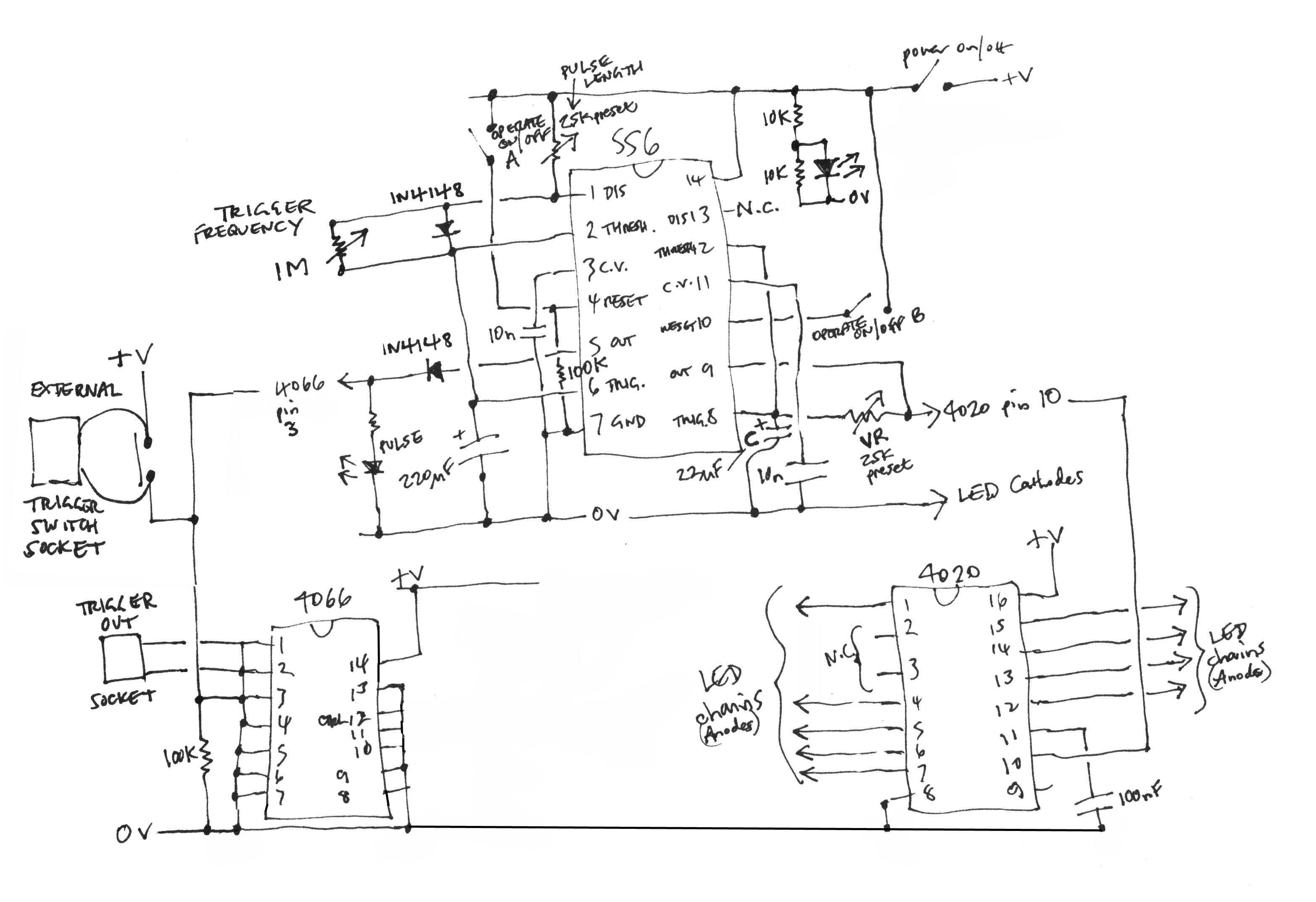 06 March 2015 Music Electronics Led Wiring Diagram Pedal Orac Circuit