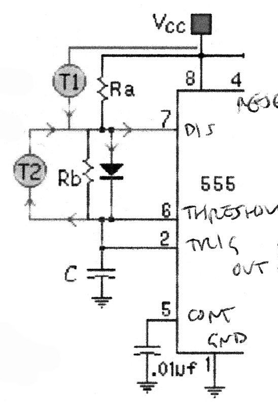 ORAC Timer circuit diagram