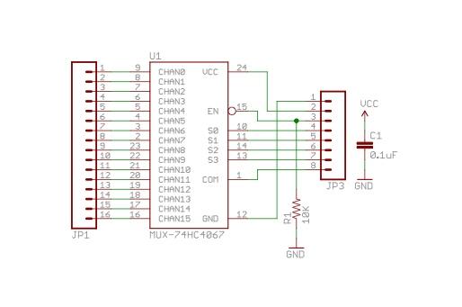 4067 breakout board schematic
