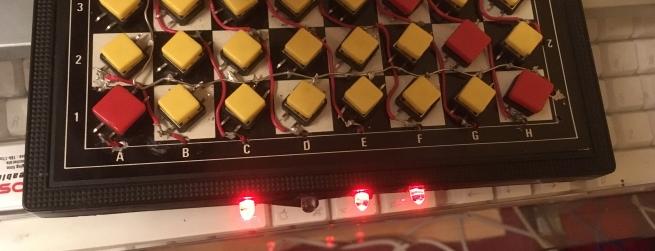 Chessboard LEDs