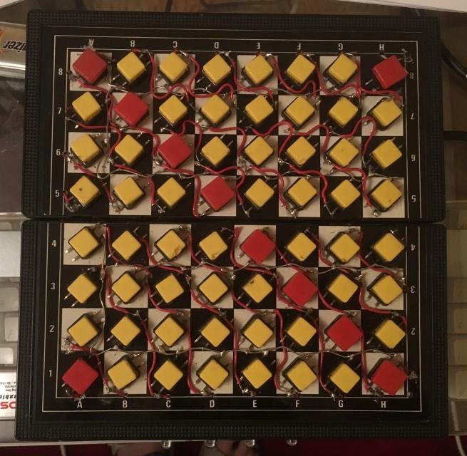 Chessboard top