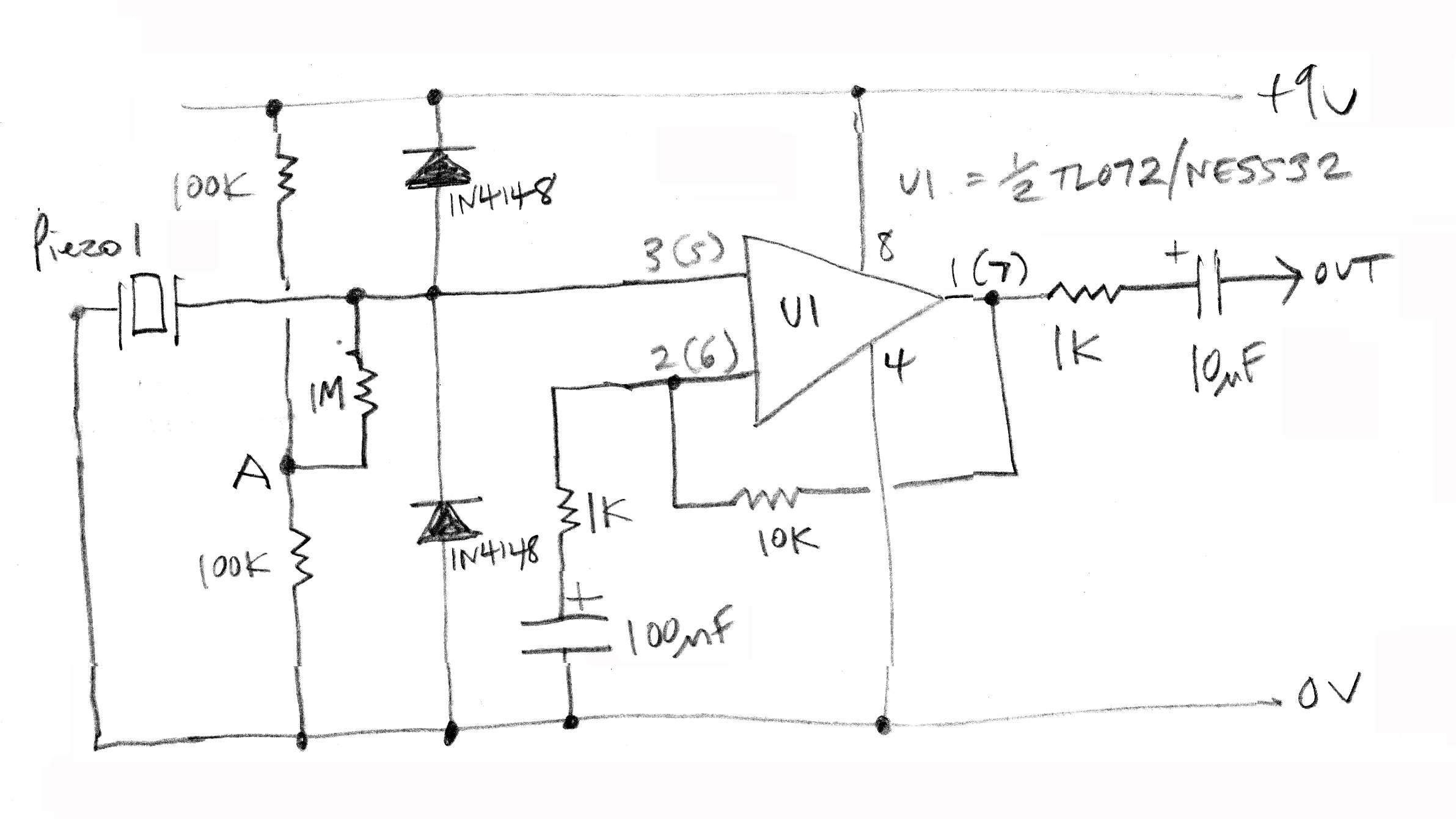 Tl072 Preamplifier Archives Amplifier Circuit Design